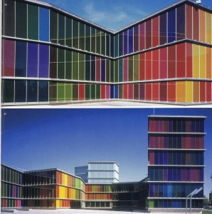 MUSAC Contemporary Arts Museum, Emilio Tuñón and Luis Moreno Mansilla, León (Spain), 2004. In: Meyhöfer D. In Full Colour: Recent Buildings and Interiors. Berlin: Ed. Verlagshaus Braun; 2008. p 125.