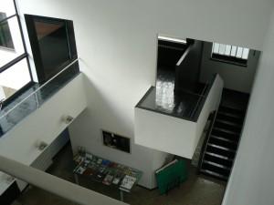 Casa La Roche-Jeanneret, Le Corbusier, París, 1923-1925, Hall de acceso