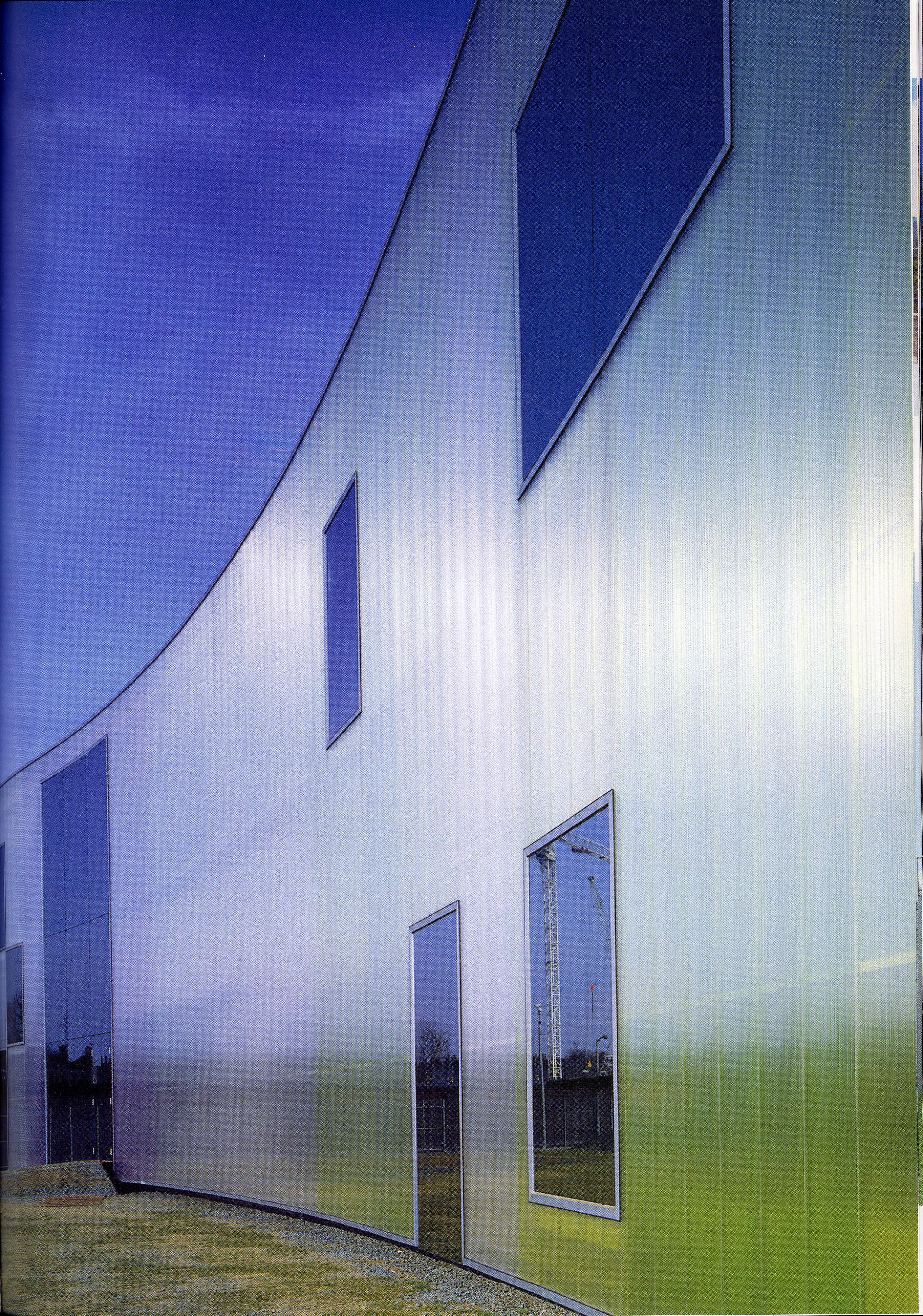 Color y arquitectura contempor nea peso visual - Colores verdes azulados ...
