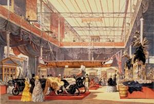 Crystal Palace, Joseph Paxton, Exposición Internacional del Londres, 1851.