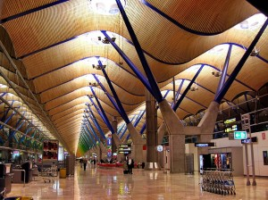 Terminal T4 at Barajas Airport, Richard Rogers Partnership, Madrid, 2005.
