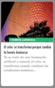 ICONO fuente luminosa