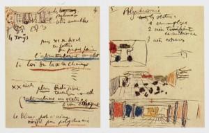 Apuntes para la charla Les relations entre architecture et peinture, Le Corbusier, 1938.