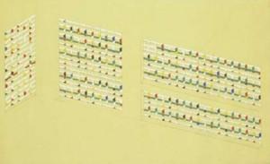 Estudio de colores para las logias de la Unitè d'Habitation, Le Corbusier, Marsella (Francia),1951.