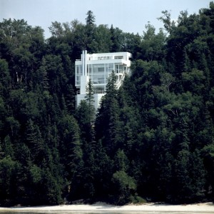 Casa Douglas, Richard Meier, Harbor Springs, Michigan (USA), 1971-73