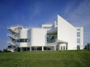 The Atheneum, Richard Meier, New Harmony, Indiana (USA), 1975-79