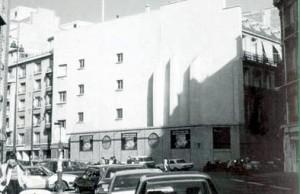 """Estado previo a la realización del mural """"Le Balcon"""",  Fabio Rieti, París Dpt 75 (Francia), 1985."""