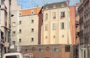 """Mural """"Le Balcon"""",  Fabio Rieti, París Dpt 75 (Francia), 1985."""