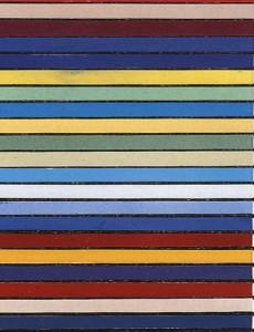 Prueba de color para su propia vivienda en Stuttgart, 1927