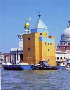 Teatro del Mondo. Aldo Rossi, Venecia (Italia), 1979-1980.