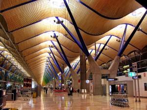 Terminal T5 del aeropuerto de Barajas, Richard Rogers Partnership, Madrid, 2005.