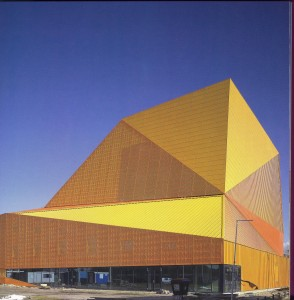 Theatre Agora. Ben van Berkel, Lelystad (Holanda), 2007.Fachada exterior su