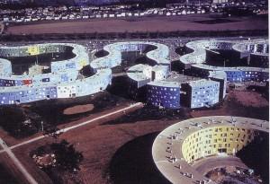 Quartier de La Grande-Borne. Émile Aillaud, Grigny (Francia), 1967-1971.