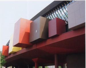 Musée du quai Branly.Yann Kersalé, Paris, 2009.
