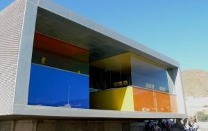 Espacio Escénico en Níjar. MGM arquitectos (José Morales, Sara Giles y Juan González), Nijar, Almería (España), 1998-2006.