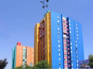 "Conjunto Habitacional ""Zona J"" ó ""Barrio do Condado"", Tomás Taveira, Lisboa (Portugal)"