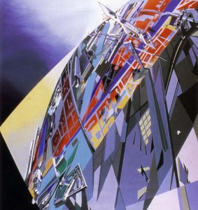 The World (89 degrees), Zaha Hadid, 1983