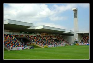 Estadio de Lasesarre, Baracaldo Sondika, Eduardo Arroyo (Nomad Arquitectos),  Vizcaya (España), 2001.