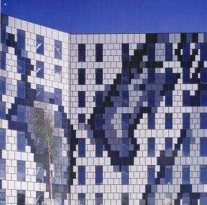 Smolni, Urban planning design. Sergei Tchoban, St. Petersburg (Rusia), 2007. Detalle fachada
