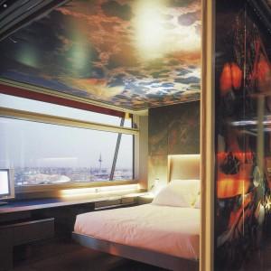 Hotel Puerta America. Jean Nouvel, Madrid, 2005. Suite.