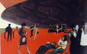 Fotomontaje para el Pabellón de Holanda para la Expo 2000. MVRDV arquitectos.