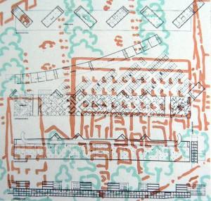 Prosper 3 residential Park, Bottrop. Sauerbruch Hutton arquitectos. 1990 (Sauerbruch Hutton Architects, Sauerbruch et al. 2006)