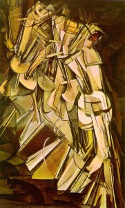 Desnudo bajando una escalera, Marcel Duchamp, 1911.