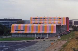 Experimental Factory, Sauerbruch & Hutton, Magdeburgo (Alemania), 1998 2001.